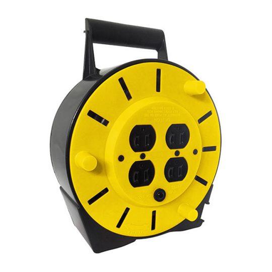 Enrouleur de câble à quatre prises 704525 MAKTIG