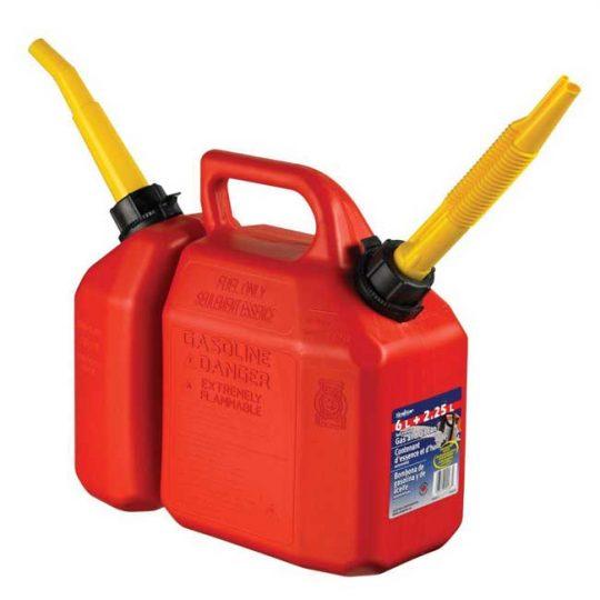 Bidon a essence combo deux compartiments 03615 Scepter