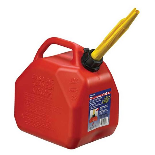 Bidon a essence rouge(Jerrycans) 10 Litres 07079 Scepter