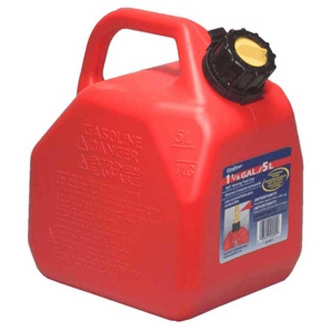 Bidon a essence rouge(Jerrycans) 5 Litres 07081 Scepter