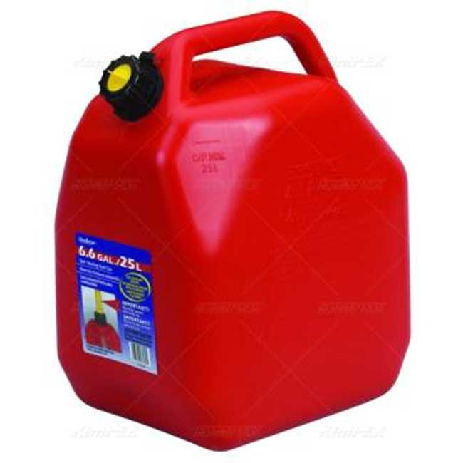 Bidon a essence rouge(Jerrycans) 25 Litres 07539 Scepter
