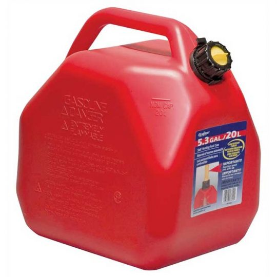 Bidon a essence rouge(Jerrycans) 20 Litres 07622 Scepter