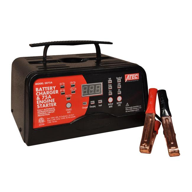 Chargeur automatique de batterie 3075A Associated