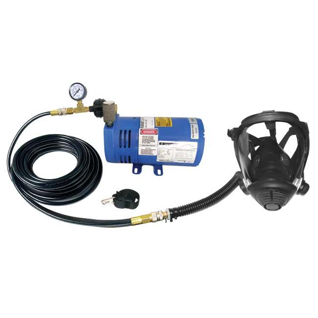 Masque respiratoire avec compresseur 380030 SAS Safety