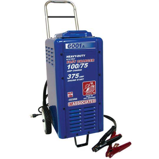 Chargeur commercial robuste de 6/12 volts 6001A Associated