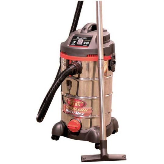 Aspirateur de matériaux secs et humides 10 gallons 8540LST King Canada