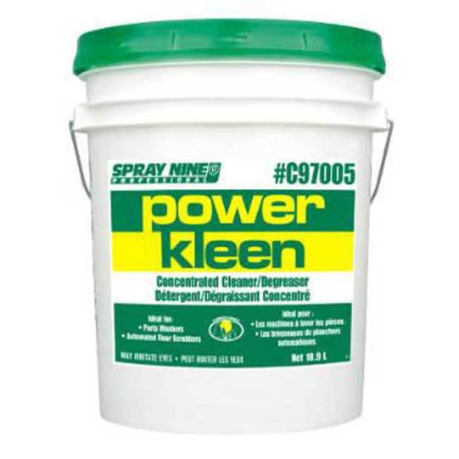 Dégraisseur puissant PowerKleen C97005 Spray Nine