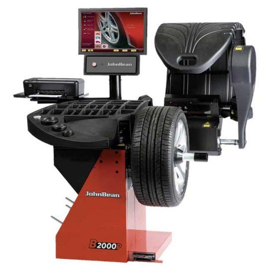 Équilibreuse de roues(balancer) 230V avec diagnostic modèle B2000P EEWB582AP230 JohnBean