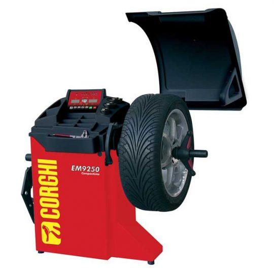 Équilibreuse de roues pour automobile EM9250-2D