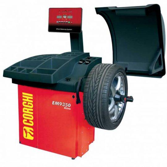 Équilibreuse de pneu électroniques EM9350X-3D CORGHI