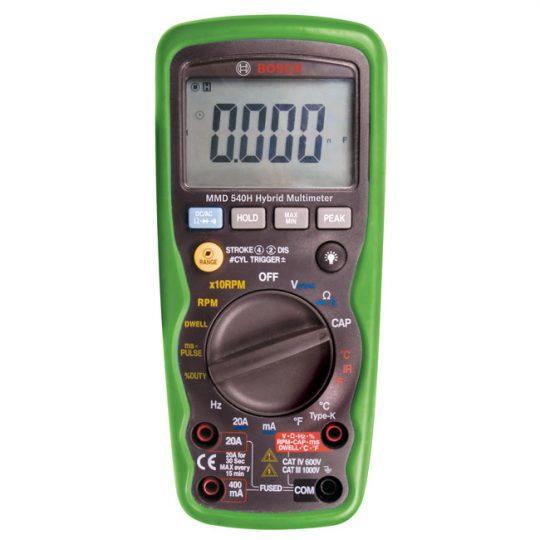 Multimètre 540H pour véhicule hybride F00E900101 Bosch