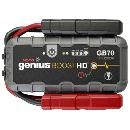 Survolteur et chargeur de batterie ultra-sécuritaire 2000 amp GB70 NOCO genius