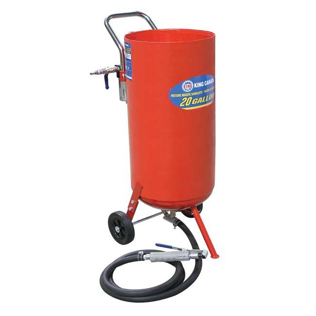Machine de sable à jet(sand blast) de 20 gallons KSB-20 King Canada