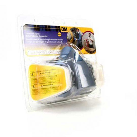 Respirateur en silicone de qualité supérieure contre la peinture en aérosol R7512C 3M