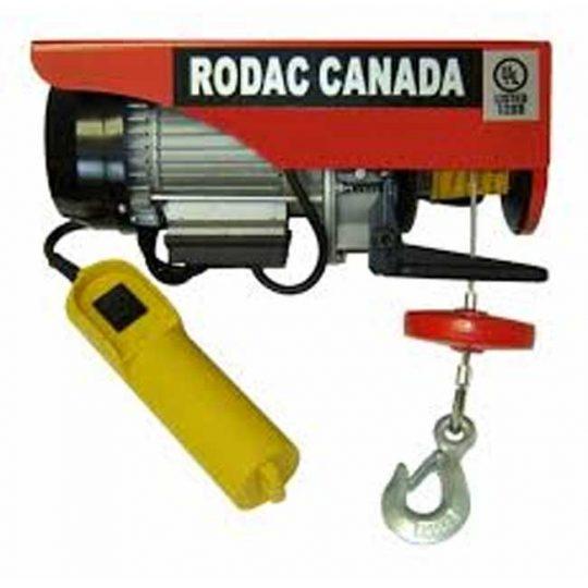 Treuil électrique 110 volts 2000 lbs RDHR1000 Rodac