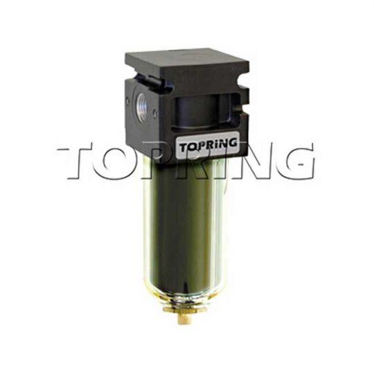Filtre pour ligne a air 1/2 MAXI manuel Zinc+transp 50.142 TOPRING