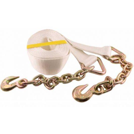 Courroies de Remorquage avec chaîne et crochet 59805 ERICKSON