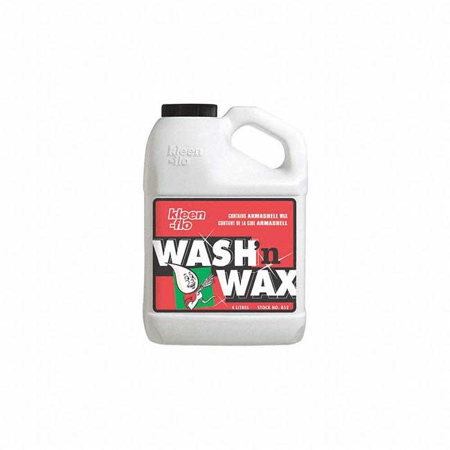 Savon pour auto et camion Wash'n Wax Liquide 852 Kleen-Flo