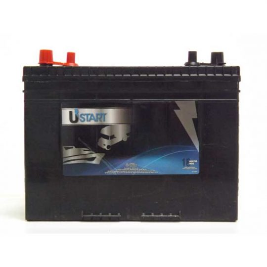 Batterie marine groupe 24 , AX24DP625 USTART par EXIDE