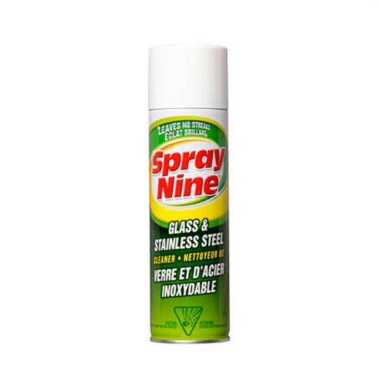 Nettoyant pour vitres et acier inoxydable C23319 SPRAY-NINE