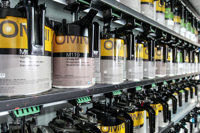 Fournisseur de peinture et produits de carrosserie