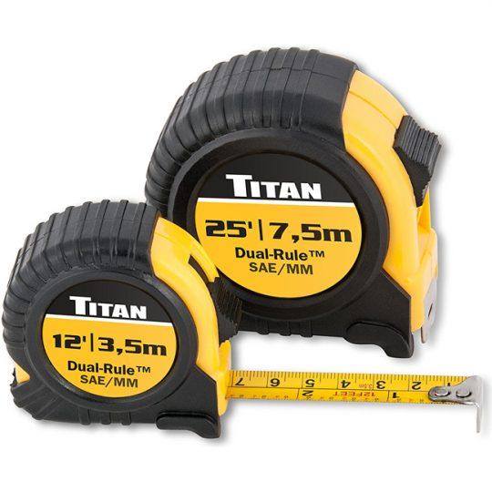 Jeu de 2 galons a mesurer SAE/MÉTRIQUE 10903 TITAN