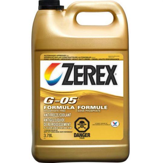 ANTIGEL / LIQUIDE DE REFROIDISSEMENT 3477 G-05 PURE ZEREX