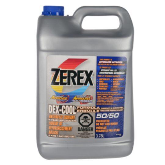 ANTIGEL / LIQUIDE DE REFROIDISSEMENT DEX-COOL 50/50,575284 ZEREX