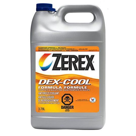 ANTIGEL / LIQUIDE DE REFROIDISSEMENT DEX-COOL PURE 857779 ZEREX