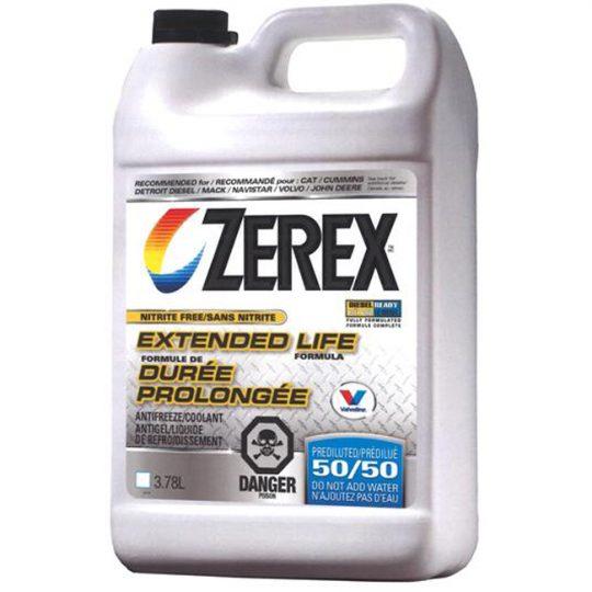 ANTIGEL / LIQUIDE DE REFROIDISSEMENT SANS NITRITE 875536 50/50 ZEREX