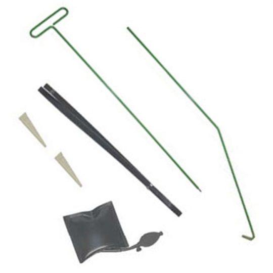 Trousse de déverrouillage avec 2 outils d'accès et une cale à gonfler LOC140 LTI TOOLS