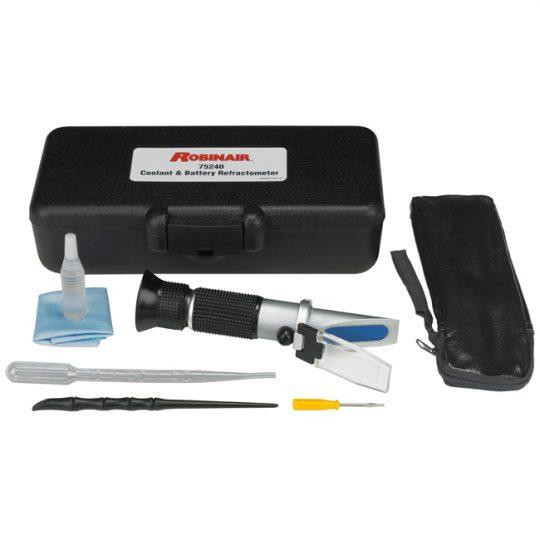 Réfractomètre de liquide de refroidissement et de batterie 75240 ROBINAIR
