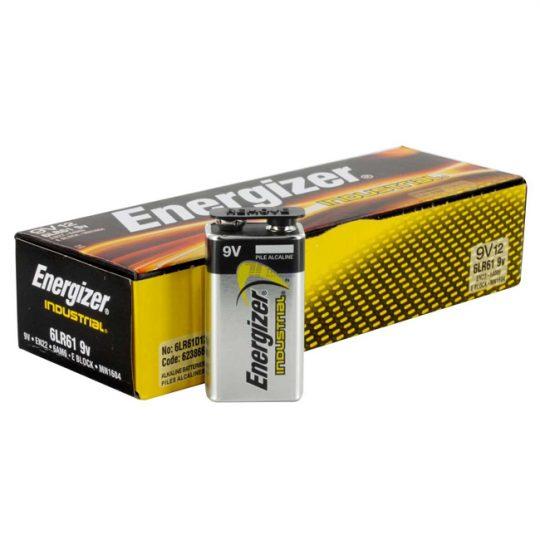 Batteries 9V ENERGIZER (12) EN22