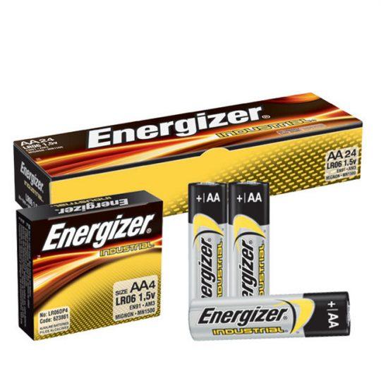 Batteries AA ENERGIZER (24) EN91