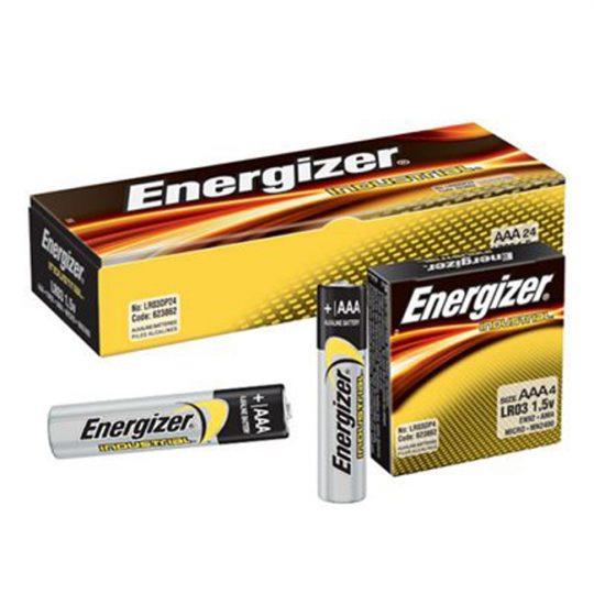 Batteries AAA ENERGIZER (24) EN92