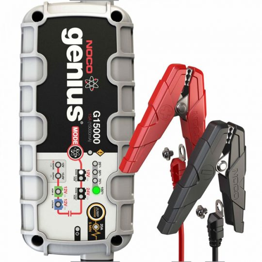 Chargeur de batterie ultra sécuritaire G15000 de 15 amps NOCO genius