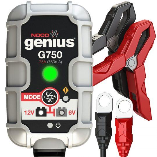 Chargeur de batterie ultra sécuritaire G750 de .75 amps NOCO genius