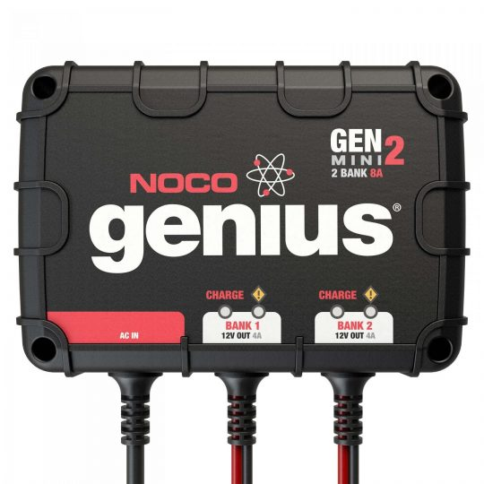 Chargeur de batterie et de maintien 100% scellé GENM2 NOCO genius