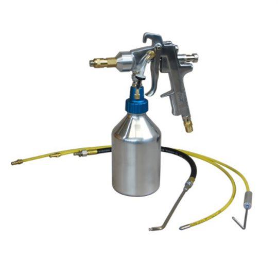 Pistolet applicateur pour antirouille professionnel avec godet de 1L LEMMER L015201