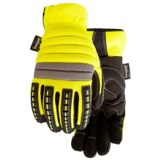 Gants protecteurs doublés Ridgeback (jaune) 9584-L WATSON