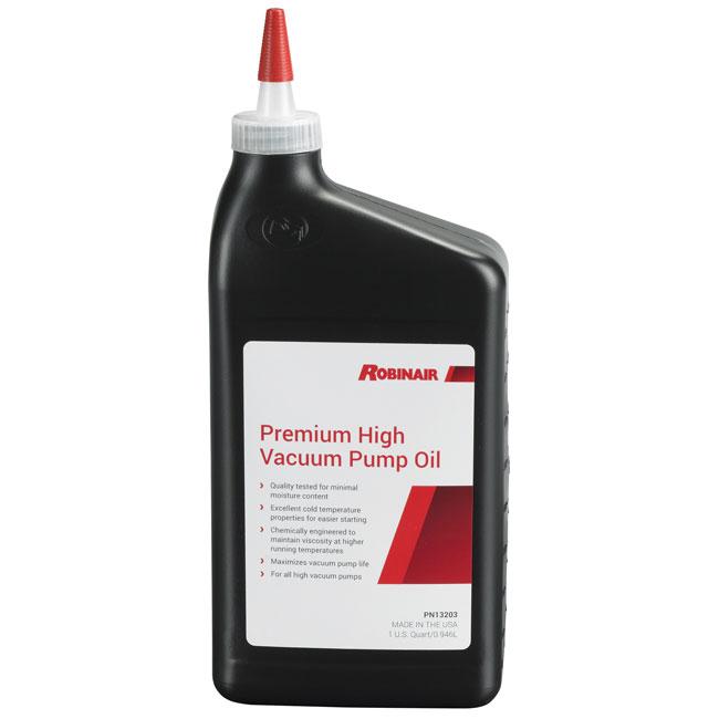 Huile de première qualité pour pompe a vide (vaccum) 13203 ROBINAIR