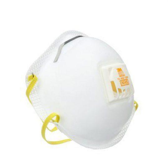 Petit masque respirateur a particules N95 8511 3M (boite de 10)