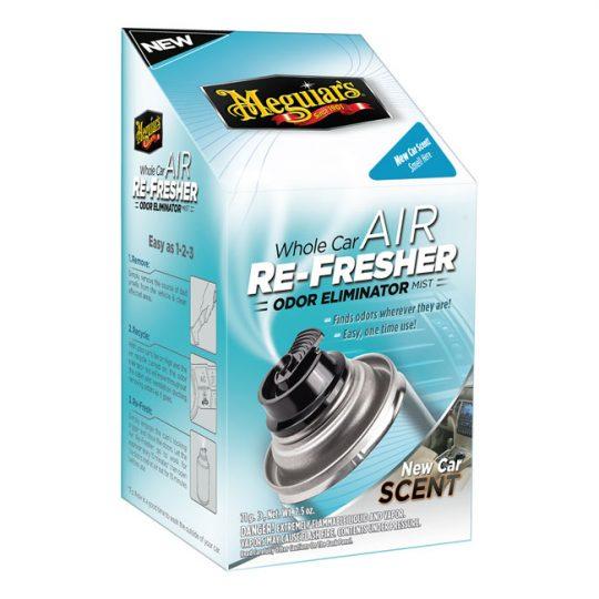 Brume anti-odeur régénératrice d'air pour voitures Meguiar's G16402C