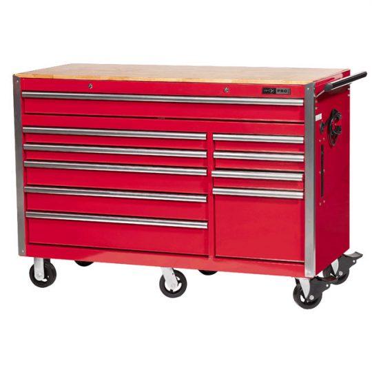 Armoire sur roulettes (coffre d'outils) 10 tirroirs 56'' x 24'' JET 842524 SERIE PRO