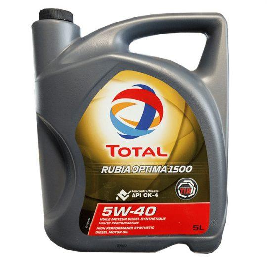 RUBIA OPTIMA 1500 5W-40 TOTAL 209433 5 LITRES
