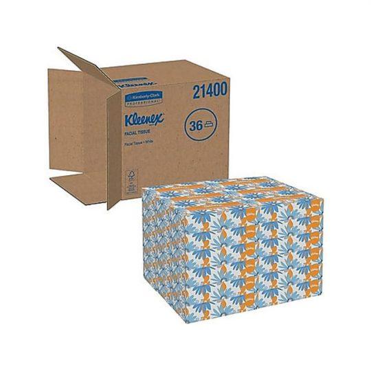Mouchoirs Kleenex a la caisse 36 boites 21400 KIMBERLY CLARK