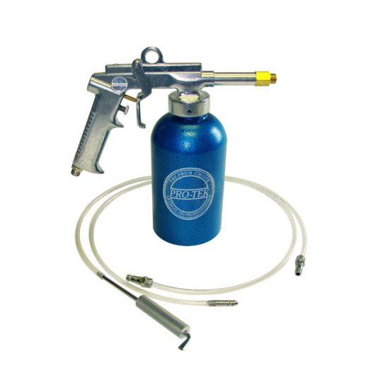 Pistolet pour revêtement antirouille avec godet PRO-TEK 7656
