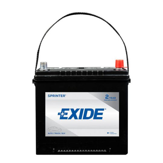 Batterie EXIDE sprinter groupe 35
