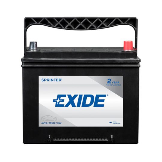 Batterie EXIDE sprinter groupe 51R