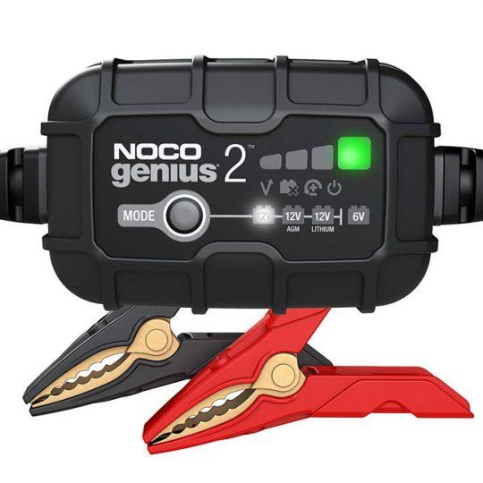 Chargeur intelligent entièrement automatique 2 ampères NOCO GENIUS2